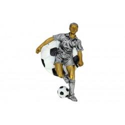 Emblemat płaskorzeźba piłka nożna NR17 Polcups