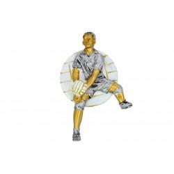 Emblemat płaskorzeźba siatkówka mężczyzn NR58 Polcups