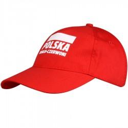 Czapka Polska czerwona S337921