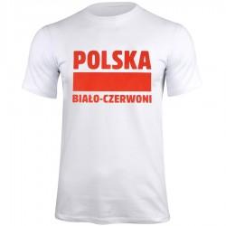 TShirt Polska BiałoCzerwoni biały S337909