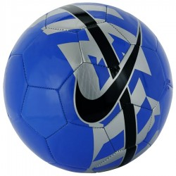 Piłka Nike React niebieska