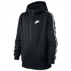 Bluza Nike B NSW Repeat FZ Poly Hood AV8387 010