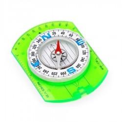 Kompas z linijką biała tarcza