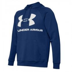 Bluza UA Rival Fleec Sportstyle Logo Hoddie 1345628 449