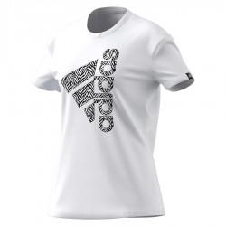 Koszulka adidas Women Vertical Zebra Logo Graphic TShirt  H14695
