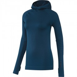 Bluza adidas Seamless Climaheat Hooded Longsleeve AP7347