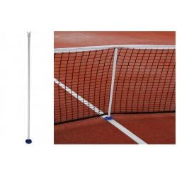 Podpórka pod siatkę do tenisa ziemnego