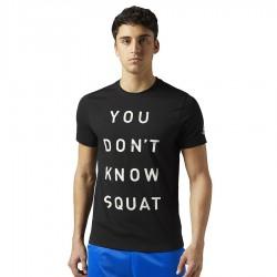 Koszulka Reebok Dont Know Squat BQ8288