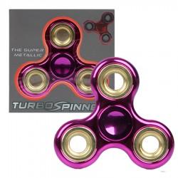 Zabawka Spinner metalowy różowo-złoty