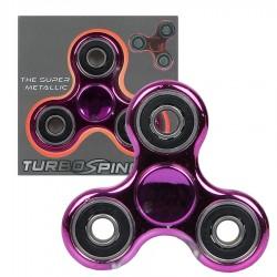 Zabawka Spinner metalowy różowy