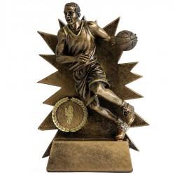 Statuetka koszykarz