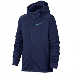 Bluza Nike B NK Dry Hoodie FZ FLC 856135 429