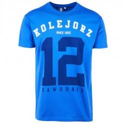 Koszulka 12 niebieska
